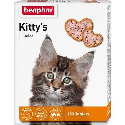 Beaphar Kitty's Junior с биотином для котят 150 таб.