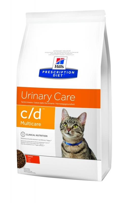 Hill's C/D Urinary Care Multicare 10кг (курица)