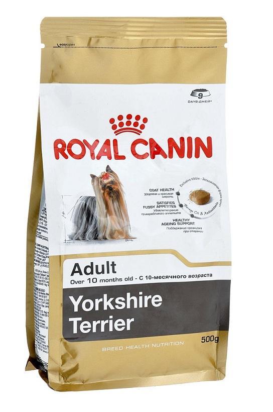 Корм royal canin yorkshire terrier консервы
